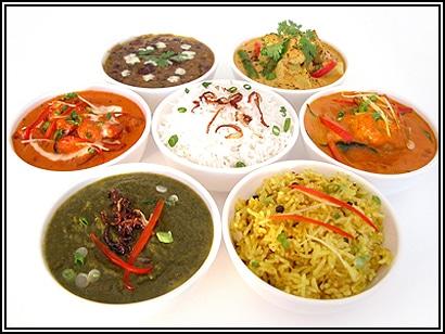 Algunos de los ingredientes basicos de la gastronomia hindu son