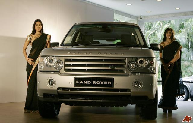 Tata motors y sus coches land rover for Tata motors range rover