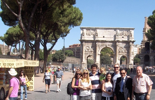 Recorriendo roma for Oficina turismo roma