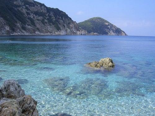 Beaches Elba Island Italy