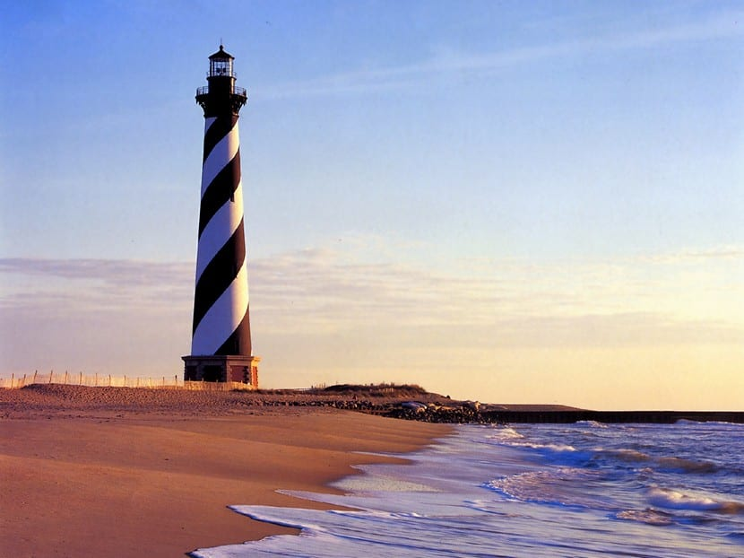 faro de Cape Lookout