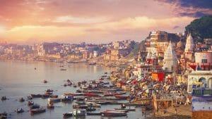 Río en la India