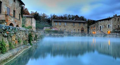 Pozas termales listado for O bagno vignoni