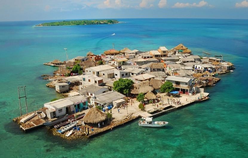 islas colombia islote