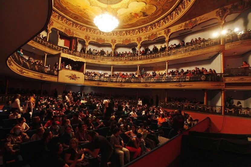 teatro lleno