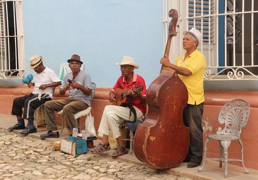 Músicos del Caribe