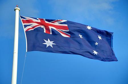 bandera de Australia La bandera de Australia