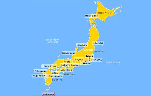 """""""mapa de japón"""""""