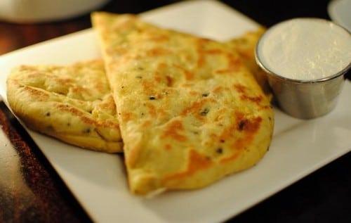 Tortitas estilo hindu