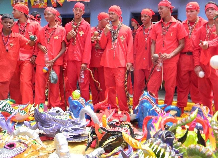 Diablos danzantes en Venezuela