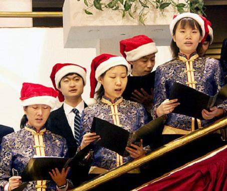 Navidad en china