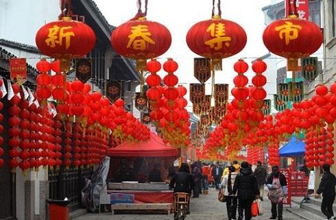 Decoraciones de a o nuevo chino for Musica orientale famosa