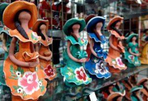 Hermosas y multicolores muñecas de Limé - República Dominicana