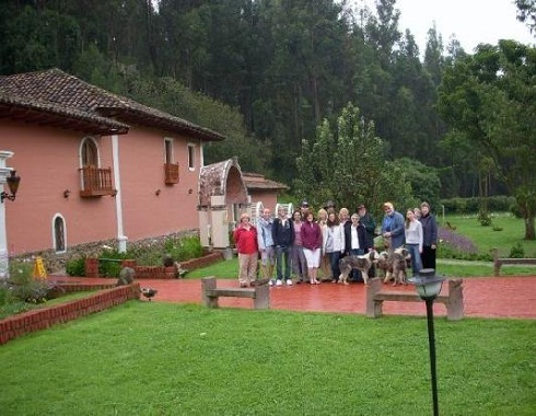 Casa rurales en cajamarca for Jardines de casas rurales