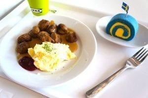 Buffet IKEA en Suecia