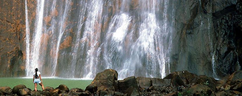 Cataratas de Carbet en Guadalupe