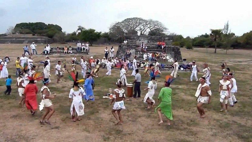 Fiesta de primavera o equinocio en Veracruz