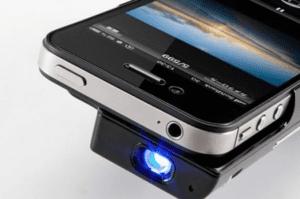 """""""proyector de imágenes para iphone"""""""