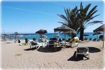 Las bonitas playas que tiene Marbella