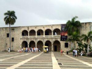 Frontis del Museo Alcázar de Colon