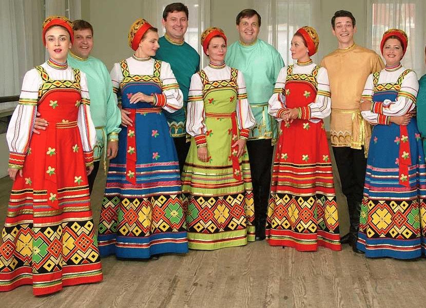 vestimenta tradicional Rusa