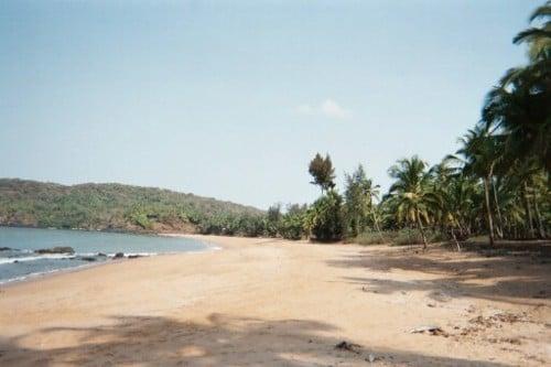 Polem La hermosa playa de Polem en Goa