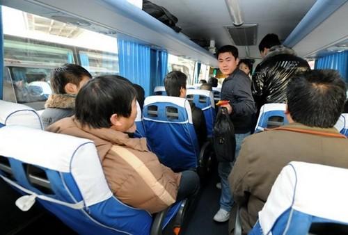 C mo funcionan y c mo son los autobuses en china ii parte - Autobuses larga distancia ...