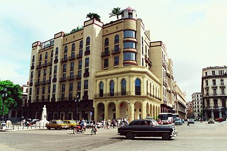 Hotel parque central y torre en la habana for Calle neptuno e prado y zulueta habana vieja habana cuba