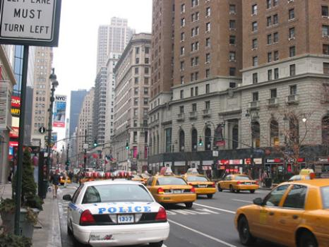 sexta avenida Nueva York