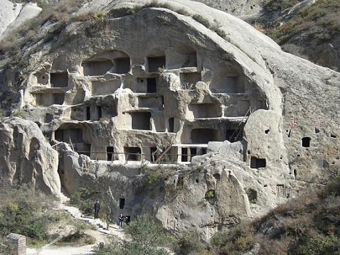 turismo China31 Guyaju, la casa del acantilado en Yanqing