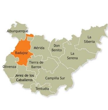 La comarca de Badajoz