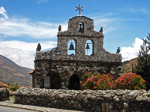 Iglesia en San Rafael de Mucuchies