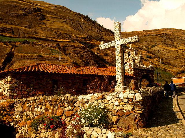 Construcciones de piedra en San Rafael de Mucuchies