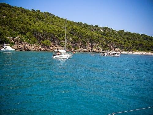 Barco Menorca