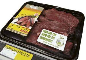 carne de canguro