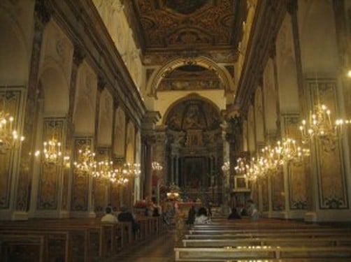 interior de la Catedral de Amalfi