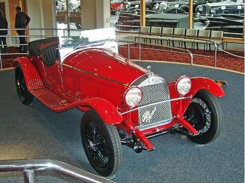 interior del Museo Alfa Romeo
