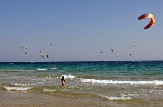 surfistas en Gran Canaria