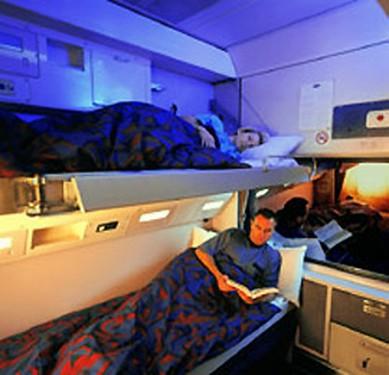 Tren XPT vagón cama