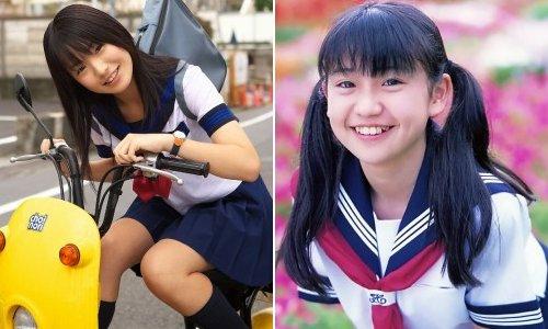Uniforme de las colegialas japonesas