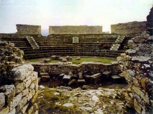 Casas de Reina teatro romano