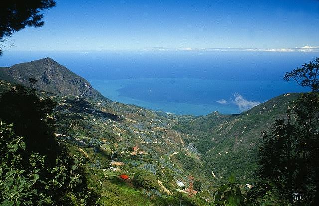 Vista del pueblo de Galipán