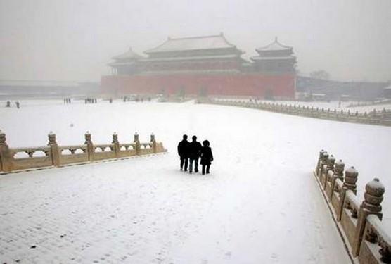 Beijing en invierno