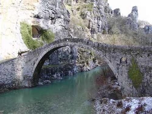puentes de Cañón Vikos