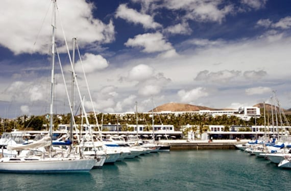 Puerto Calero en Lanzarote