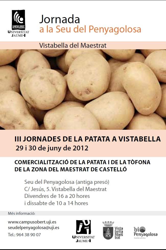 III Jornadas de la Patata