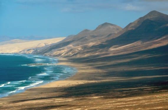 Dunas en Canarias