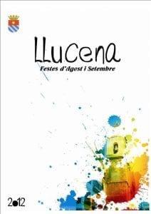 Cartel de las fiestas de Lucena