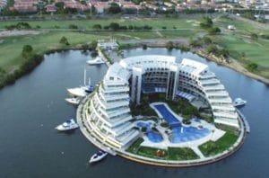 Establecimientos hoteleros en Puerto la Cruz