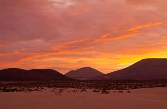 Atardecer en Fuerteventura